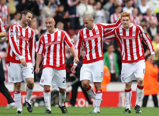 Stoke City players, Stoke City v Sunderland