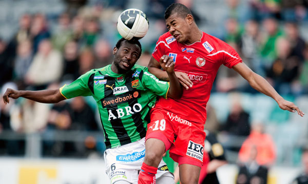 матч шведской лиги Kalmar-GAIS