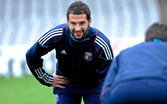 Лисандро Лопес на тренировке