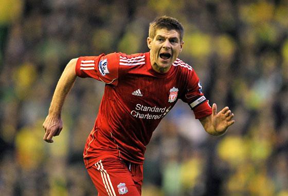 Liverpool. Steven Gerrard