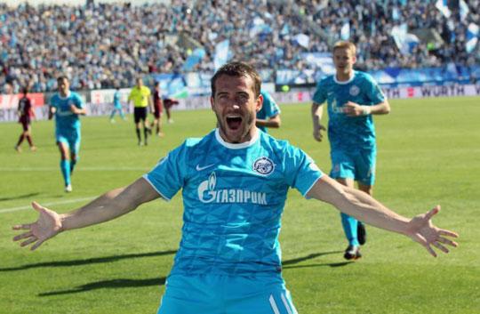 Александр Кержаков ФК Зенит