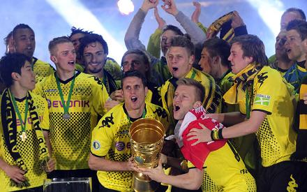 Боруссия - обладатель Кубка Германии