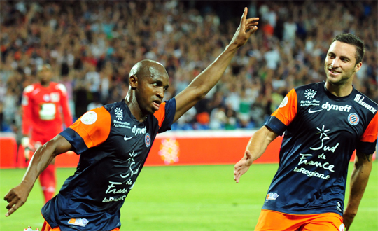 Сулейман Камара празднует гол в ворота Тулузы