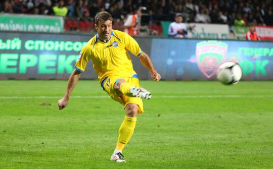 Драган Блатняк в матче против Терека