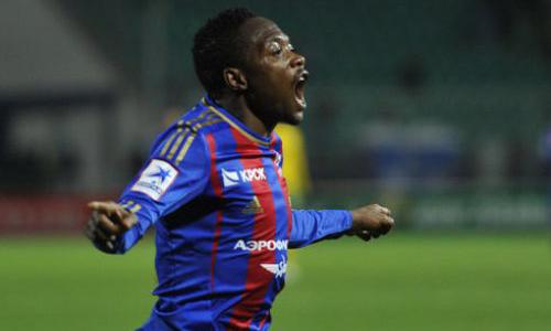 Ахмед Муса празднует гол в ворота Кубани