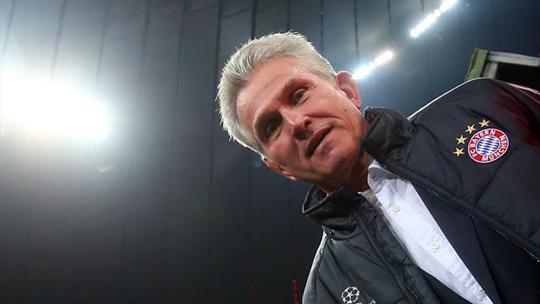 Главный тренер Баварии Юпп Хайнкес.