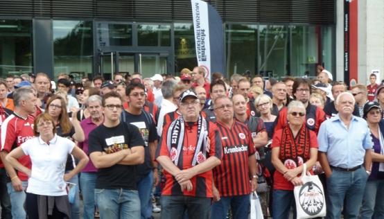фанаты Айнтрахта (Франкфурт)