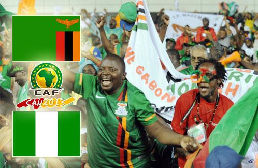 Замбия - Нигерия