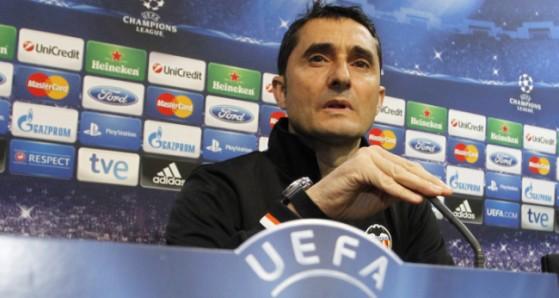 главный тренер Валенсии