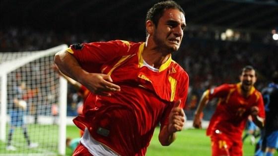 Футбольный матч Черногория - Англия