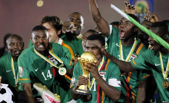 Футбольный матч Лесото - Замбия