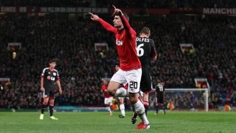 Прогноз на матч Байер - Манчестер Юнайтед. Прогнозы на Лигу чемпионов