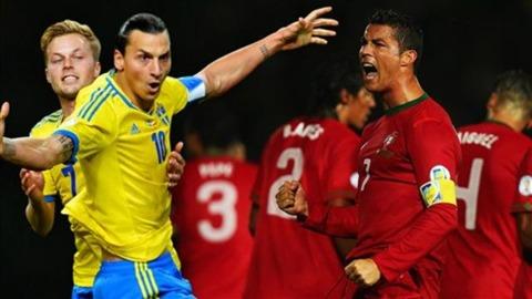 Прогноз на матч Швеция - Португалия.Прогнозы на стыковые матчи