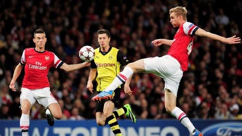 Прогноз на матч Боруссия - Арсенал. Прогнозы на Лигу Чемпионов