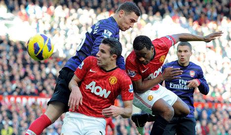 Прогноз на матч Манчестер Юнайтед - Арсенал. Прогнозы на Английскую Премьер - Лигу
