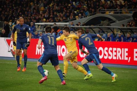 Прогноз на матч Франция - Украина. Прогнозы на стыковые матчи