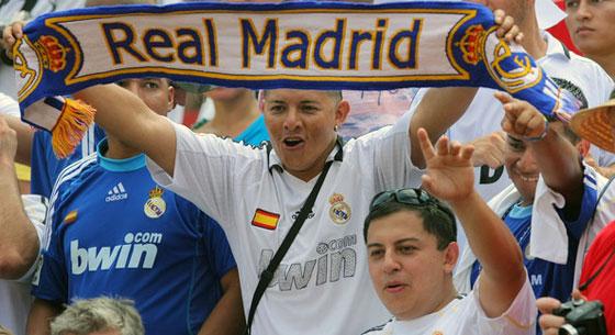 болельщики мадридского Реала