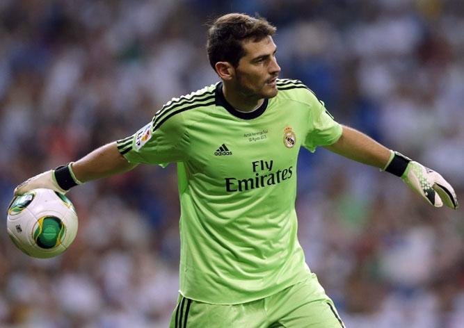 Касильяс вратарь Реала Мадрид