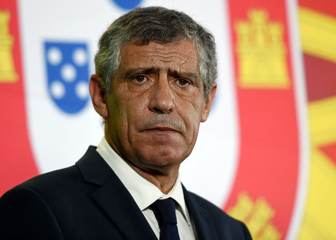 Фернандо Сантос тренер сборной Португалии