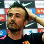 Луис Энрике тренер Барселоны