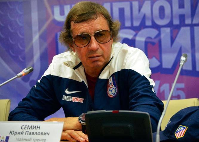 Юрий Павлович Сёмин в Саранской Мордовии