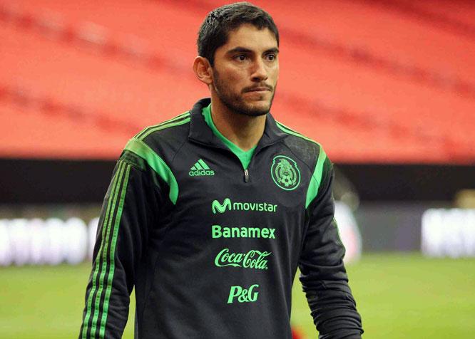 вратарь сборной Мексики Хесус Корона