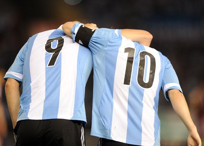 Игуаин Месси Аргентина