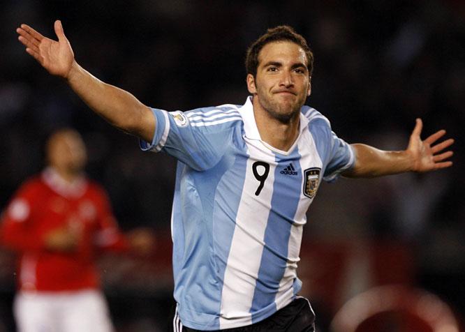 Игуаин  Аргентина