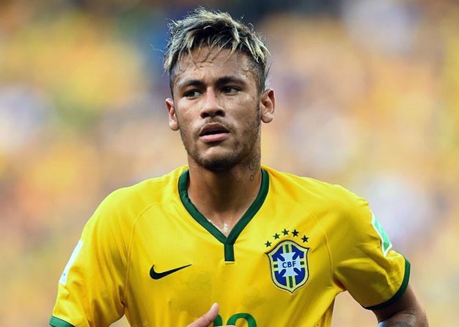 Неймар в форме сборной Бразилии