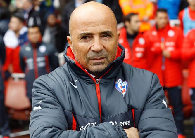 Хорхе Сампаоли тренер сборной Чили