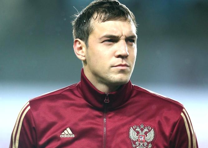 Дзюба в форме сборной России