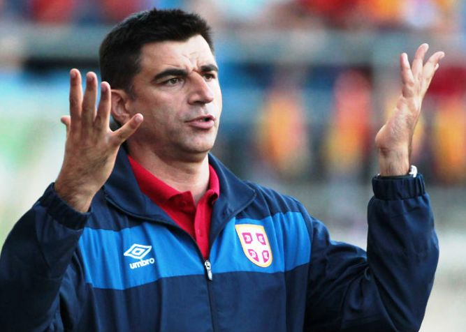 Radovan Curcic тренер Сербии