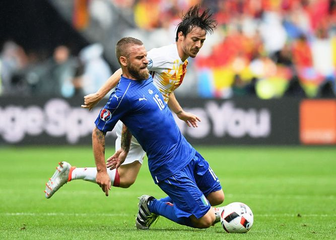 match between Italy and Spain