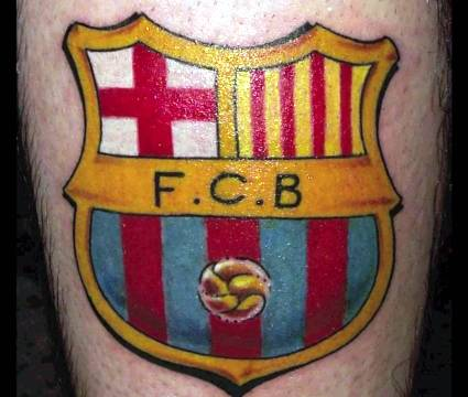 барселона татуировка