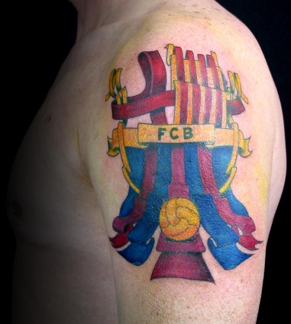 красивая татуировка барселоны