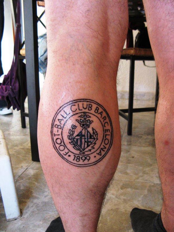 татуировка Барселона
