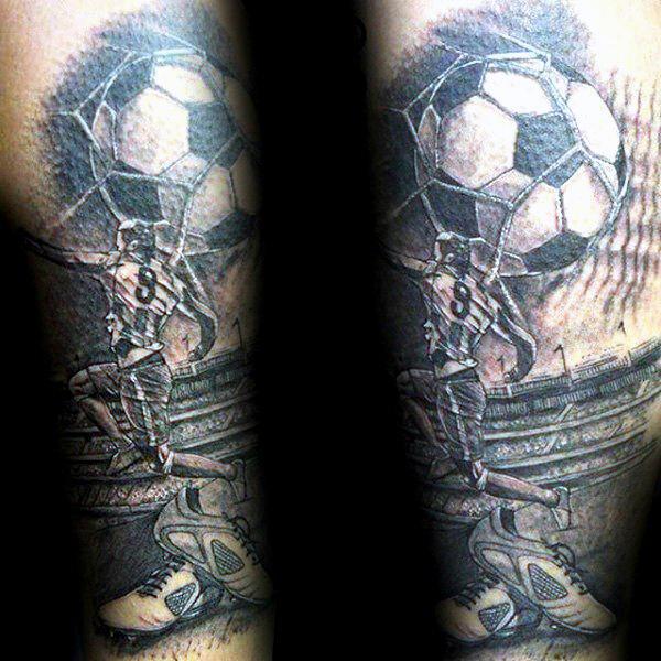 футбольные тату