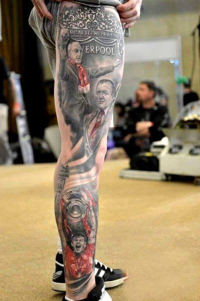 татуировка Ливерпуль